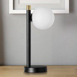 Sforzin Stolná lampa Pomì 1-plameňová so sklenenou guľou