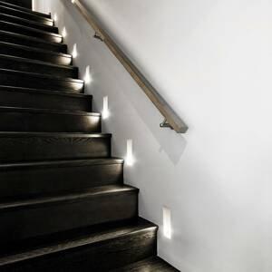 Sforzin Zapustené nástenné LED svietidlo Filippide