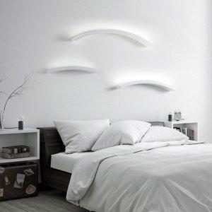 Sforzin Nástenné LED Melossia, nahor vyžarujúce, 54,5cm
