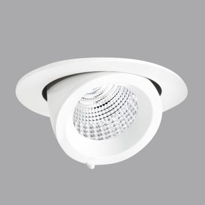 PERFORMANCE LIGHTING EB431 zapustené LED Flood reflektor teplá biela