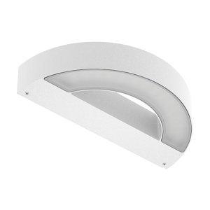 PERFORMANCE LIGHTING Vonkajšie nástenné Maska+M, nadol, 3000K, biele