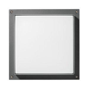 PERFORMANCE LIGHTING Nástenné LED Bliz Square 40, 3000K, antracit