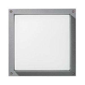 PERFORMANCE LIGHTING Nástenné Bliz Square 40 3000K sivé stmievateľné