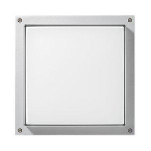 PERFORMANCE LIGHTING Nástenné Bliz Square 40 3000K biele stmievateľné