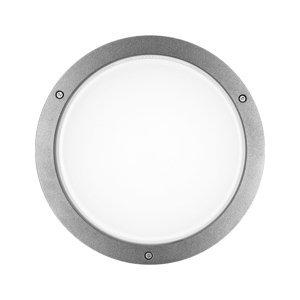 PERFORMANCE LIGHTING Nástenné LED Bliz Round 30 3000K sivé stmievateľné