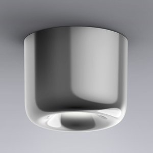 Serien Lighting serien.lighting Cavity Ceiling S, lesklý hliník