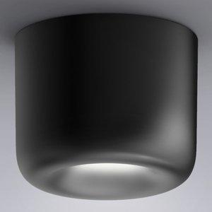 Serien Lighting serien.lighting Cavity Ceiling L, čierne