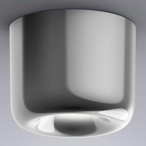 Serien Lighting serien.lighting Cavity Ceiling L, lesklý hliník