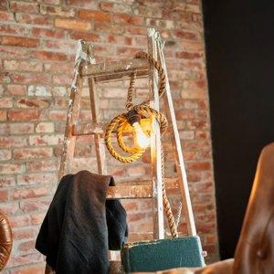 SEA-Club Závesná lampa Mila z lana