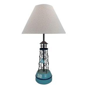 SEA-Club Stolná lampa 5761 Bója s textilným tienidlom