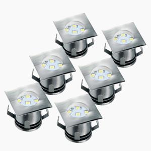 Smartwares Sada 6 – LED zapustené podlahové svetlo Ranex