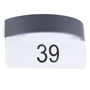 Smartwares LED číslo domu Home so snímačom deň/noc