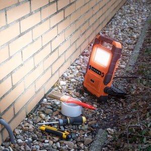 Smartwares Pracovné LED svetlo FCL-76011 s reproduktorom