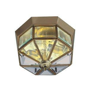 Searchlight Stropné svietidlo Flush Klasik antická 8-uholník
