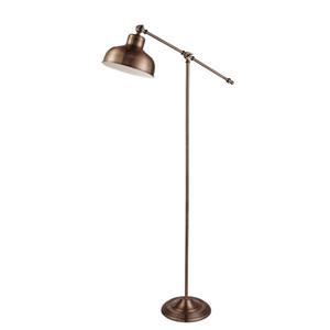 Searchlight Stojaca lampa Macbeth z kovu v aktuálnej medenej