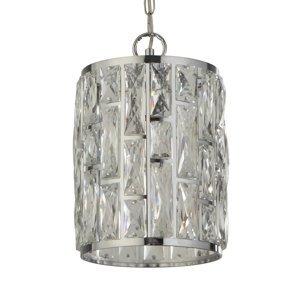 Searchlight Závesná lampa Bijou, tienidlo krištáľ, Ø 22cm
