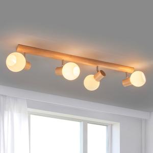 Spot-Light Funkčné stropné svietidlo Karin 4-plameňové