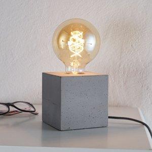 Spot-Light Moderná stolná lampa Strong z betónu