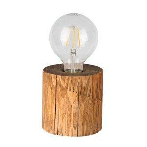 Spot-Light Stolná lampa Trabo morená borovica výška 10cm