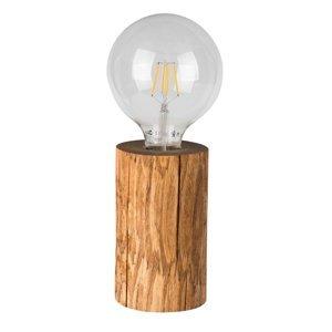 Spot-Light Stolná lampa Trabo morená borovica výška 15cm
