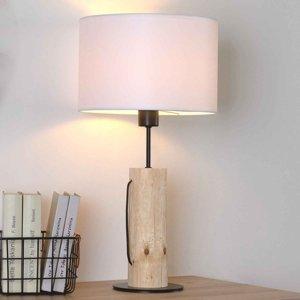 Spot-Light Stolná lampa Pino Table, prírodné borovicové drevo
