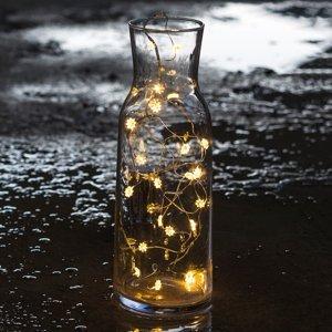 Sirius Jasná kvetinová svetelná LED reťaz Silke 20-pl.