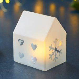 Sirius Dekoračné LED svietidlo Santa House, výška 10cm