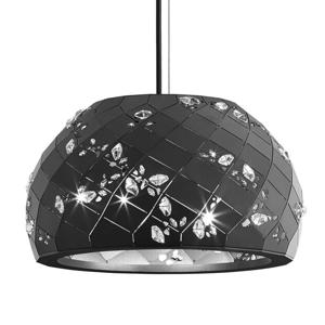 Swarovski Swarovski Apta - kryštálová závesná lampa, čierna