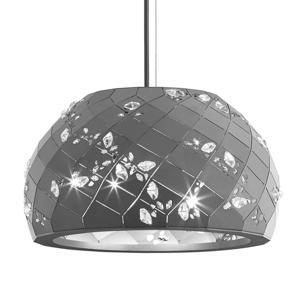 Swarovski Swarovski Apta - kryštálová závesná lampa, sivá