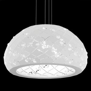 Swarovski Swarovski Apta kryštálová závesná lampa, biela