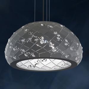 Swarovski Swarovski Apta kryštálová závesná lampa, sivá