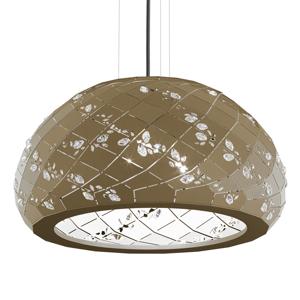 Swarovski Swarovski Apta kryštálová závesná lampa, bronz