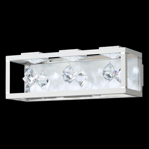Swarovski Swarovski Fyra nástenná lampa 3.000K 3pl biela
