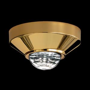 Swarovski Swarovski Vega LED stropná lampa zlatá