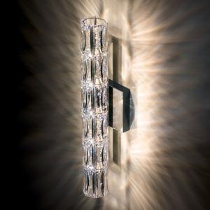 Swarovski Swarovski Verve nástenná lampa, V46 cm