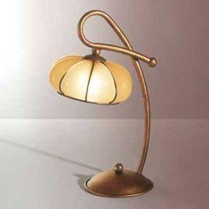 Siru Klasická stolná lampa LOTO, ručne vyrobená