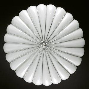 Siru Stropné svietidlo Giove, biele, 48cm