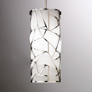 Siru Biela závesná lampa Orione v umeleckom dizajne