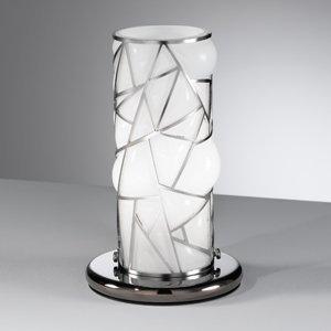 Siru Stolná lampa Orione prvky ušľachtilá oceľ biela