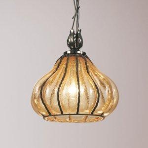 Siru Carro vypuklá sklenená závesná lampa