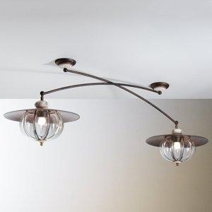 Siru Dvoj-plameňové stropné svietidlo Lampara vidiecke