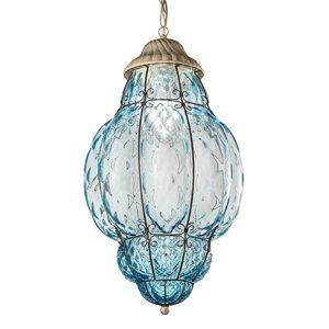 Siru Závesná lampa Classic vonkajšia modrá