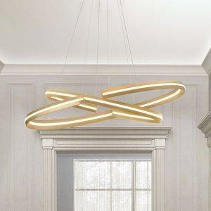 Schuller Závesné LED svietidlo Elipse oválny tvar 80x40cm
