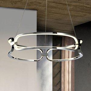 Schuller Závesné LED svietidlo Colette, 3-pl., chróm