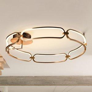 Schuller Stropné LED svietidlo Colette, 6-pl., ružové zlato