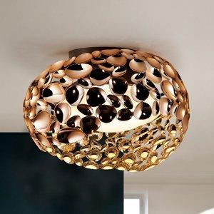 Schuller Stropné LED svietidlo Narisa, Ø 46cm ružové zlato