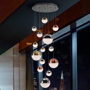 Schuller Závesné LED svetlo Sphere viacfarebné 14-pl., app