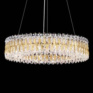 Schonbek Schonbek Sarella, okrúhla kryštálová závesná lampa