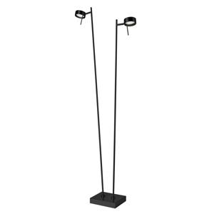 Sompex LED stojaca lampa Bling, stmievač, 2-pl. čierna