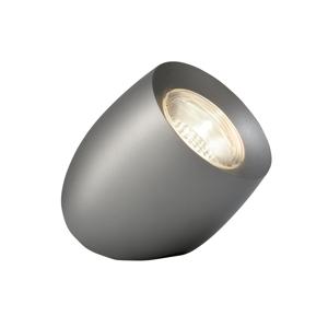 Sompex LED stolná lampa Ovola, sivá matná